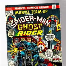 Cómics: MARVEL TEAM UP 15 - 1973 FN+ / AMAZING SPIDER-MAN & GHOST RIDER / 1ST ORB. Lote 277059183