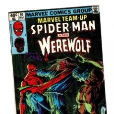 Cómics: MARVEL TEAM UP 93 - 1980 FN- / AMAZING SPIDER-MAN & WEREWOLF. Lote 277116858