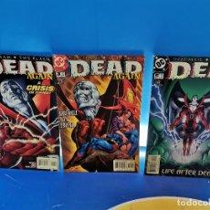 Cómics: MINISERIE EDICION USA DEAD AGAIN Nº 1-3 Y 5-DC COMICS. Lote 277250548