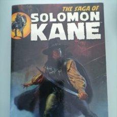 Cómics: THE SAGA OF SOLOMON KANE DARK HORSE PERFECTO ESTADO. Lote 277638433
