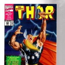 Cómics: THOR 460 - MARVEL 1993 VFN/NM / JIM STARLIN & BRUCE ZICK. Lote 277740558