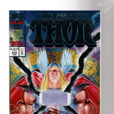 Cómics: THOR 475 - MARVEL 1994 VFN/NM GIANT SIZE ANNIVERSARY FOIL EMBOSSED COVER. Lote 277742073