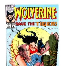 Cómics: WOLVERINE SAVE THE TIGER - MARVEL 1992 VFN- / CHRIS CLAREMONT & JOHN BUSCEMA. Lote 278373103