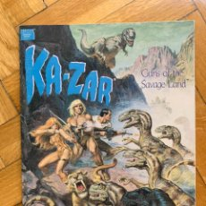 Cómics: KA-ZAR: GUNS OF THE SAVAGE LAND - KAZAR GRAPHIC NOVEL - DIXON, TRUMAN, KWAPISZ Y VILLAGRAN. Lote 278872273