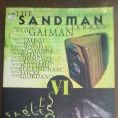 Cómics: THE SANDMAN BY NEIL GAIMAN - FABLES & REFLECTIONS. Lote 278876068