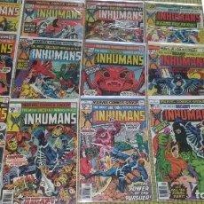 Cómics: INHUMANS 1ST SERIES COMPLETA 1975. Lote 282539753