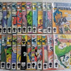 Cómics: WEB OF SPIDERMAN - MARVEL USA - LOTE COMPLETO 1 AL 24. Lote 283004653