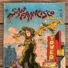 Cómics: SAN FRANCISCO COMIX #7. 1970. UNDERGROUND. Lote 284586638
