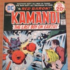 Cómics: KAMANDI - THE LAST BOY ON EARTH! - NO. 22 - AÑO 1974 - MUY BUEN ESTADO. Lote 284808288