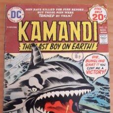 Cómics: KAMANDI - THE LAST BOY ON EARTH! - NO. 23 - AÑO 1974 - MUY BUEN ESTADO. Lote 284808948