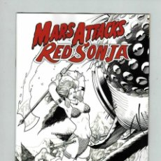 Cómics: MARS ATTACKS RED SONJA (2020) # 4 VARIANT COVER DYNAMITE.. Lote 286226113