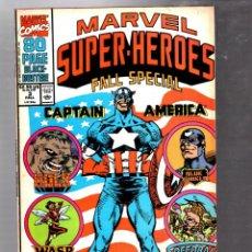 Comics : MARVEL SUPER HEROES 3 - 1991 FN+ / CAPTAIN AMERICA / HULK / WASP / CAPTAIN MARVEL. Lote 288062743
