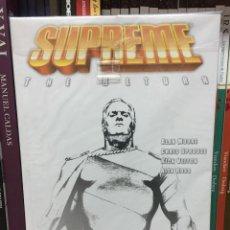 Cómics: SUPREME THE RETURN VOL. 2, DE ALAN MOORE, JOE BENNETT, RICK VEITCH Y ALEX ROSS. TPB (2003 CHECKER). Lote 288097078