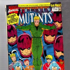 Cómics: NEW MUTANTS ANNUAL 6 - MARVEL 1990 VFN / DAYS OF FUTURE PRESENT / 1ST SHATTERSTAR. Lote 288135913