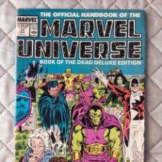 Cómics: THE OFFICIAL HANDBOOK OF THE MARVEL UNIVERSEVOL.2 Nº 17 MARVEL ORIGINAL EN INGLÉS. Lote 288358863