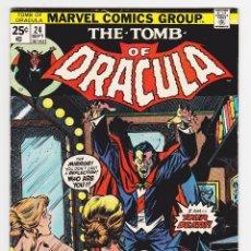 Cómics: TOMB OF DRACULA (1972) 24 (MARVEL, USA) / FN- (5.5). Lote 288400013