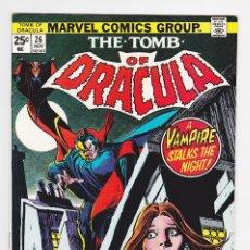 Cómics: TOMB OF DRACULA (1972) 26 (MARVEL, USA) / FVF (7.0). Lote 288402108