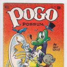 Cómics: POGO POSSUM (1949) 4 (DELL, USA) VG- (3.5) - WALT KELLY. Lote 288408538