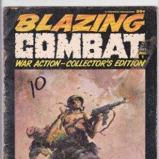 Cómics: BLAZING COMBAT (1965) 1 (WARREN, USA) / GD (2.0). Lote 288409483