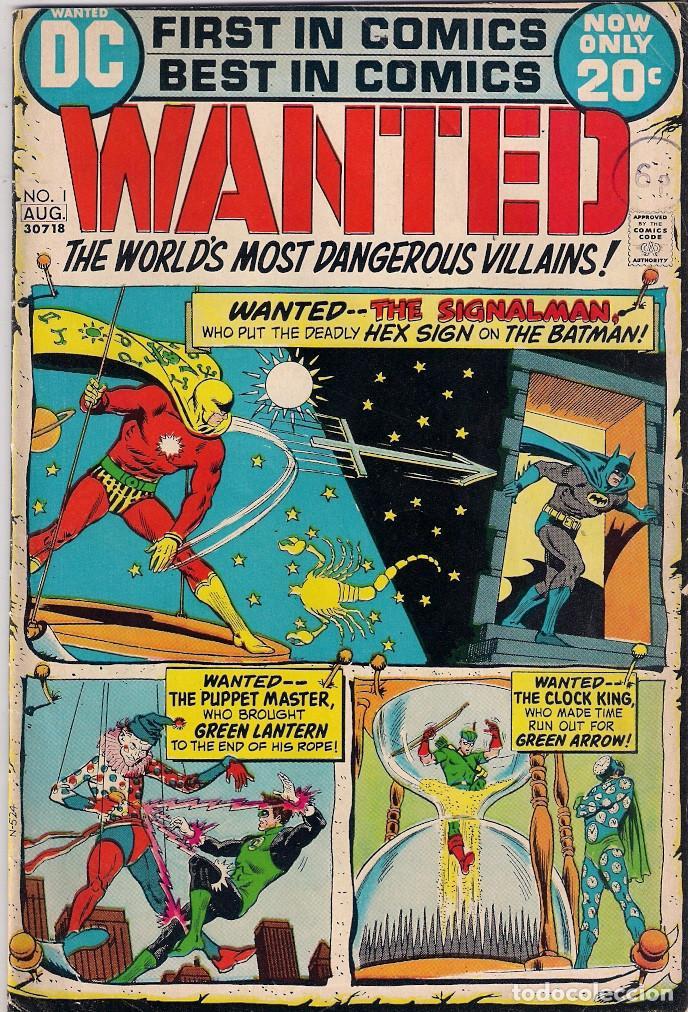 WANTED DC. NÚMEROS 1-2-3-4-5-7-8 (Tebeos y Comics - Comics Lengua Extranjera - Comics USA)