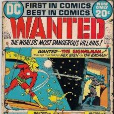 Cómics: WANTED DC. NÚMEROS 1-2-3-4-5-7-8. Lote 288456688
