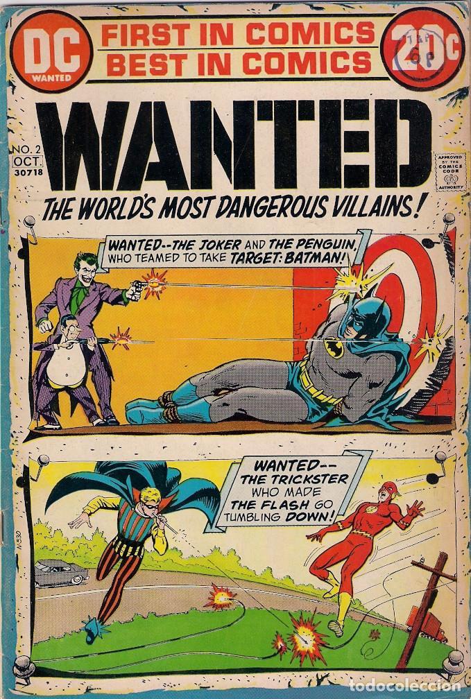 Cómics: Wanted Dc. Números 1-2-3-4-5-7-8 - Foto 2 - 288456688