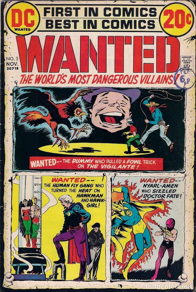 Cómics: Wanted Dc. Números 1-2-3-4-5-7-8 - Foto 3 - 288456688
