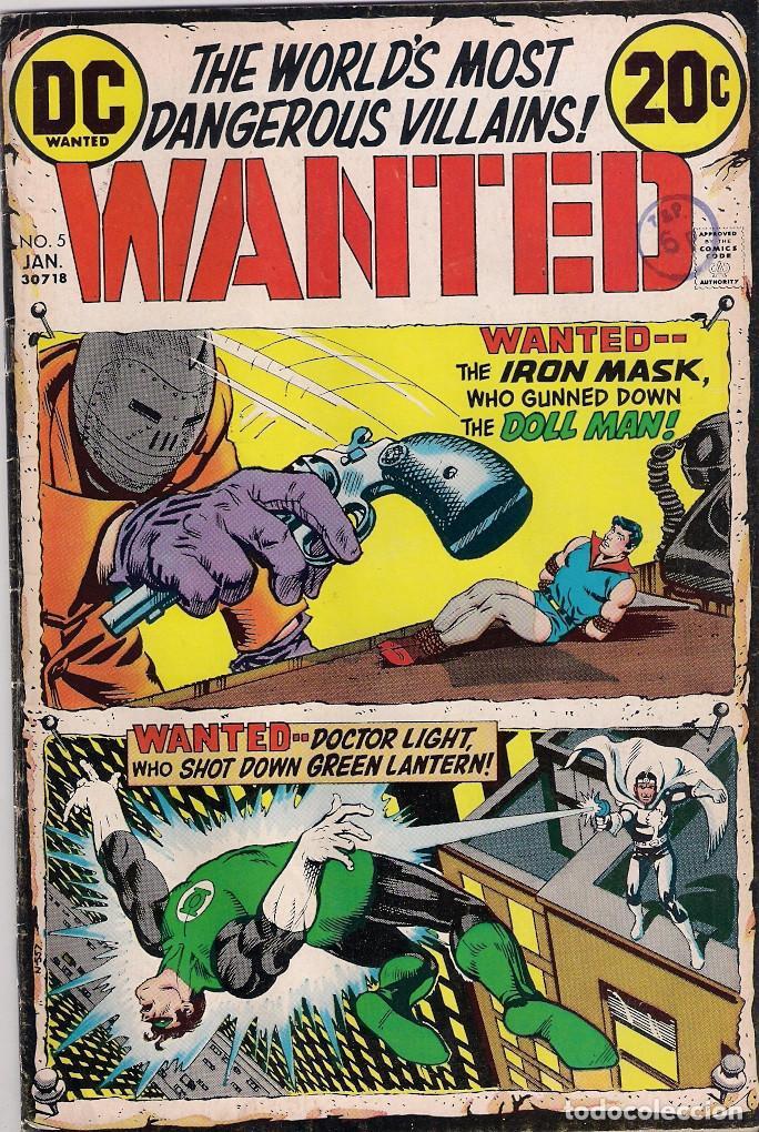 Cómics: Wanted Dc. Números 1-2-3-4-5-7-8 - Foto 5 - 288456688
