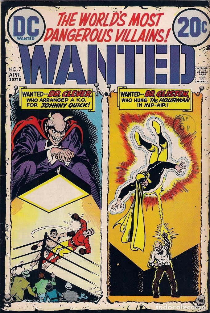 Cómics: Wanted Dc. Números 1-2-3-4-5-7-8 - Foto 6 - 288456688