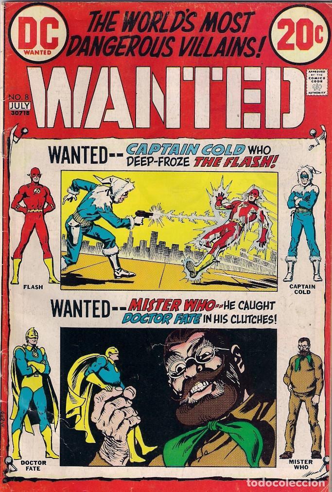 Cómics: Wanted Dc. Números 1-2-3-4-5-7-8 - Foto 7 - 288456688