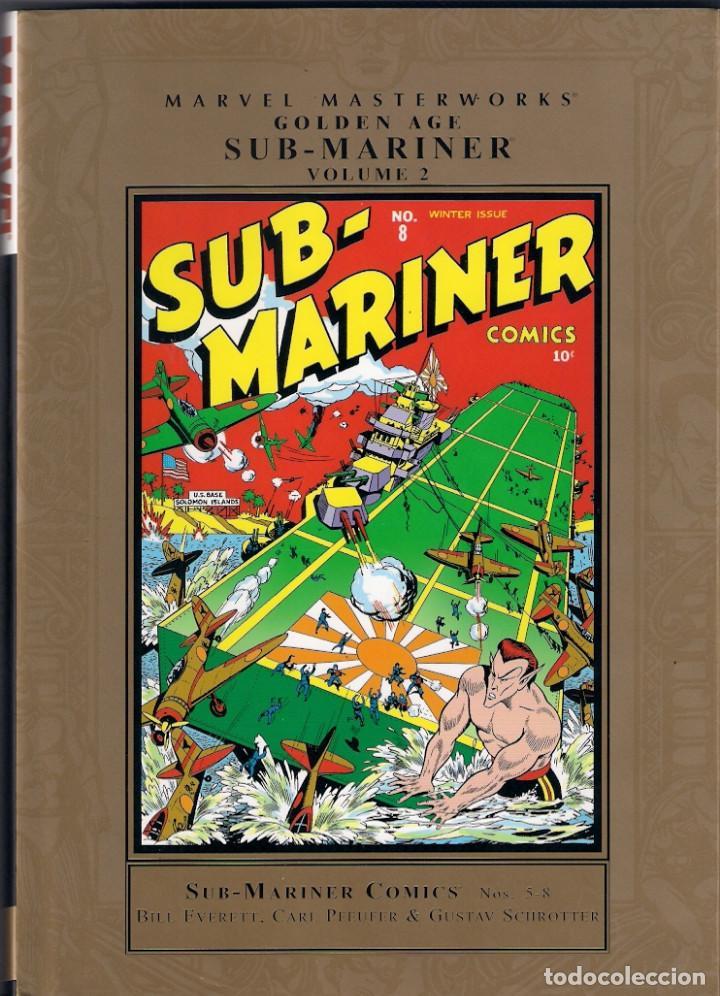 MARVEL MASTERWORKS. GOLDEN AGE. SUB MARINER. TOMO 2 (Tebeos y Comics - Comics Lengua Extranjera - Comics USA)