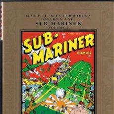 Cómics: MARVEL MASTERWORKS. GOLDEN AGE. SUB MARINER. TOMO 2. Lote 288457733