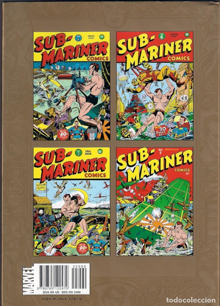 Cómics: Marvel Masterworks. Golden Age. Sub Mariner. Tomo 2 - Foto 2 - 288457733