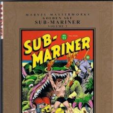 Cómics: MARVEL MASTERWORKS. GOLDEN AGE. SUB MARINER. TOMO 3. Lote 288457848