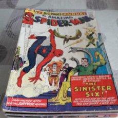 Cómics: THE AMAZING SPIDERMAN 33 ANUALES ORIGINALES USA. Lote 288466438