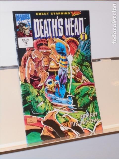 DEATH'S HEAD II Nº 3 MARVEL - EN INGLES (Tebeos y Comics - Comics Lengua Extranjera - Comics USA)