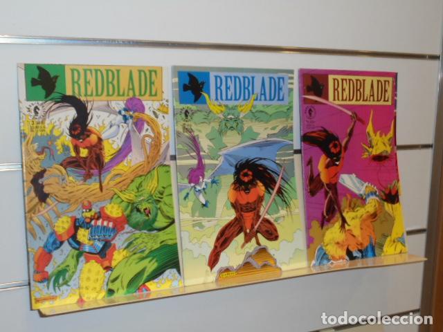 REDBLADE COMPLETA 3 NUMEROS DARK HORSE - EN INGLES (Tebeos y Comics - Comics Lengua Extranjera - Comics USA)