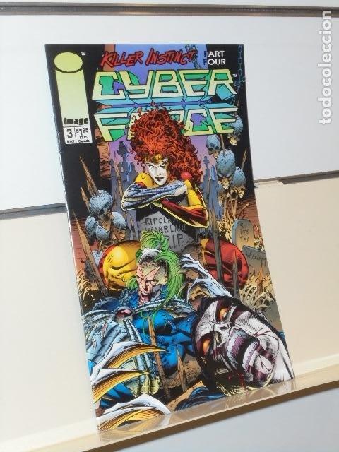 CYBER FORCE Nº 3 IMAGE - EN INGLES (Tebeos y Comics - Comics Lengua Extranjera - Comics USA)