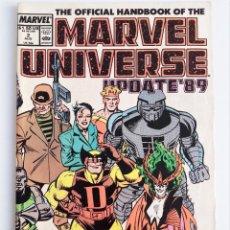 Cómics: THE OFFICIAL HANDBOOK OF THE MARVEL UNIVERSE UPDATE ´89 Nº 2 EN INGLÉS.. Lote 289431648