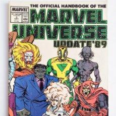 Cómics: THE OFFICIAL HANDBOOK OF THE MARVEL UNIVERSE UPDATE ´89 Nº 3 EN INGLÉS.. Lote 289431928