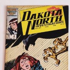 Cómics: COMIC DAKOTA NORTH INVESTIGATIONS VOL 1 #4 (DIC 1986 MARVEL) EN INGLÉS. Lote 289475983