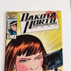 Cómics: COMIC DAKOTA NORTH INVESTIGATIONS VOL 1 #3 (OCT 1986 MARVEL) EN INGLÉS. Lote 289476308