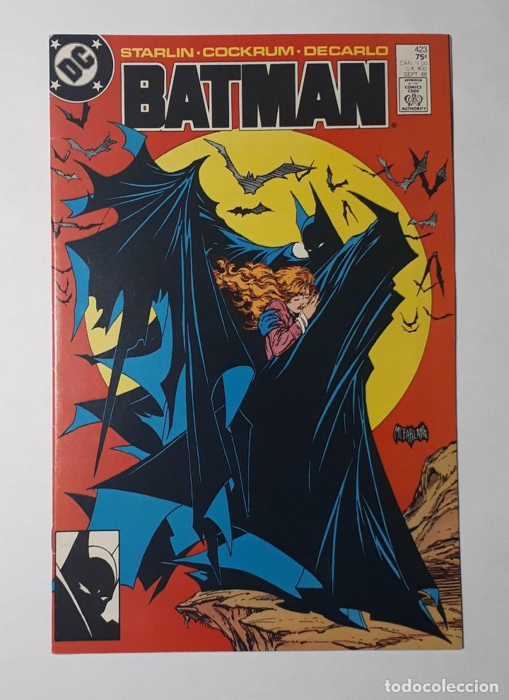 LOTE 3 COMICS USA DC BATMAN 423 EXCELENTE ESTADO + GOTHAM CITY SIRENS 1 + SUPERMAN 18 COMO NUEVOS (Tebeos y Comics - Comics Lengua Extranjera - Comics USA)