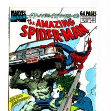 Fumetti: AMAZING SPIDER-MAN ANNUAL 23 - MARVEL 1989 FN/VFN / ROB LIEFELD / SHE HULK / ATLANTIS ATTACKS. Lote 291988583