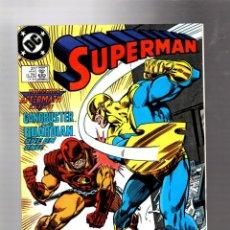 Cómics: SUPERMAN 27 - DC 1989 VFN/NM / STERN & GAMMILL / INVASION. Lote 293452743