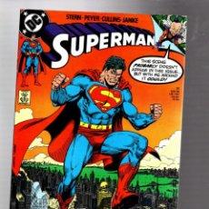 Cómics: SUPERMAN 31 - DC 1989 VFN+ / STERN & JANKE. Lote 293453383