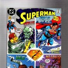 Cómics: SUPERMAN 41 - DC 1990 VFN / ORDWAY & JANKE / LOBO. Lote 293455978