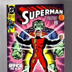 Cómics: SUPERMAN 42 - DC 1990 VFN+ / ORDWAY & JANKE. Lote 293456298