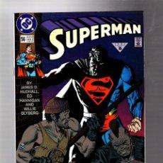 Cómics: SUPERMAN 56 - DC 1991 VFN+. Lote 293457143