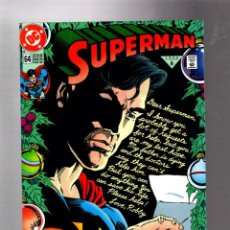 Cómics: SUPERMAN 64 - DC 1992 VFN/NM / JURGENS & GUICE. Lote 293457443